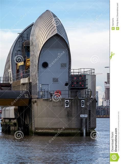 thames barrier animal clinic london jan 10 view of the thames barrier in london on