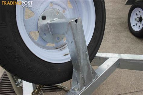 boat trailer spare wheel holder trailer spare wheel bracket for 6x4 and 8x5 models for
