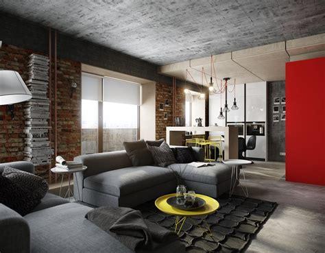 wood and concrete design   Interior Design Ideas.