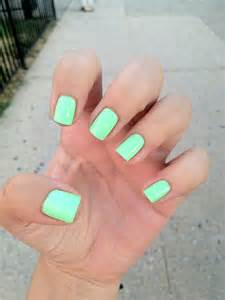 minty fresh haha mint colored nail the color