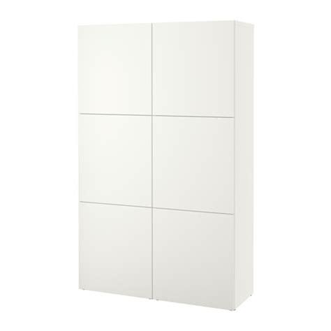 besta lappviken best 197 combinaison rangement portes lappviken blanc ikea