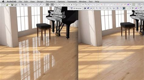 Creating a High end Wood Surface Material in ARCHICAD