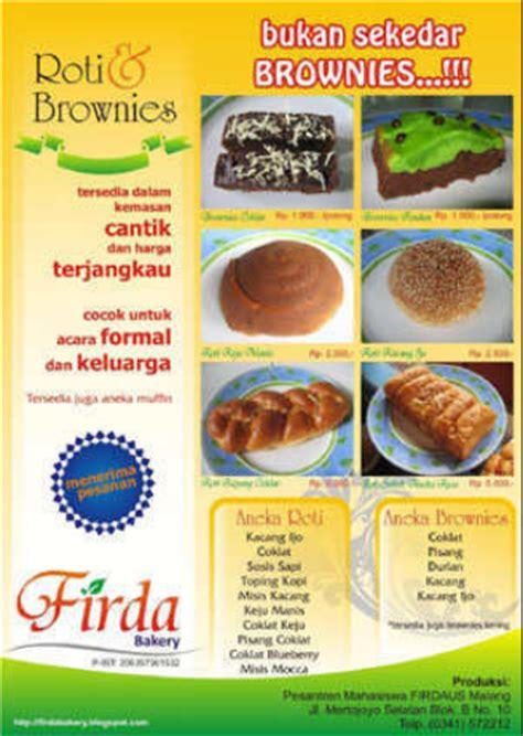 desain brosur kuliner 13 contoh desain brosur makanan menarik simple elegan