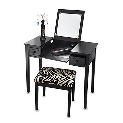 Bed Bath And Beyond Vanity Table with Black Vanity Set Bed Bath Beyond