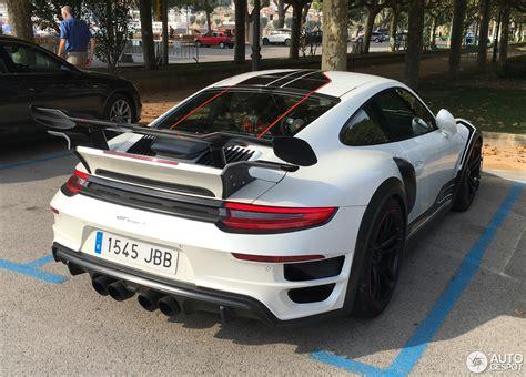 Porsche R 991 by Porsche 991 Techart Gt R 8 October 2017 Autogespot