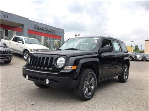 jeep patriot 2017 black 2017 jeep patriot sport altitude ii 4wd black southridge