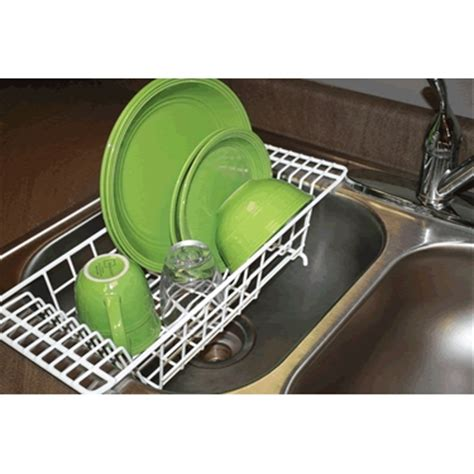 over the sink dish rack simple smart small kitchen multi tasker idea strainer