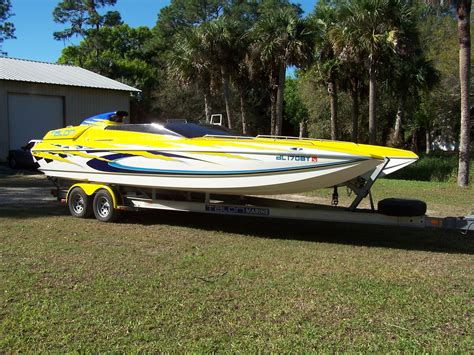 1932 catamaran drive navarre fl 1997 talon 25 racing catamaran power boat for sale www
