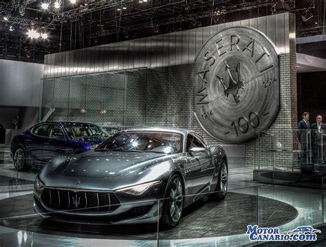 Maserati Of Los Angeles Maserati Alfieri Concept Y Quattroporte Gts Desvelados En