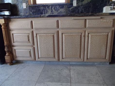 crackle paint kitchen cabinets crackle finish on kitchen cabinets antique paint design