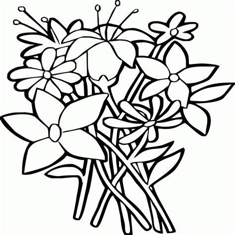 fiori disegni da colorare per bambini fiori da colorare per bambini