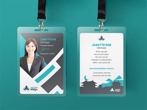 id card design ideas andre horton graphic designer illustrator