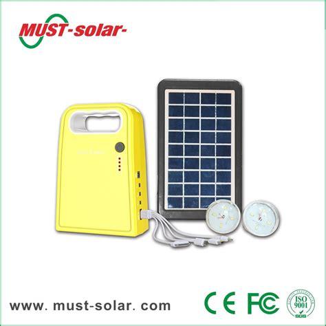 Otech Led L Portable Solar Light 1 3w 3w panel solar home system kit with 4ah battery 2pcs 1 2w led bulb usb cable buy 3w panel