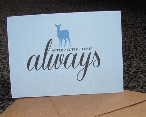 Wedding Wishes Harry Potter by Harry Potter Always Greetings Card