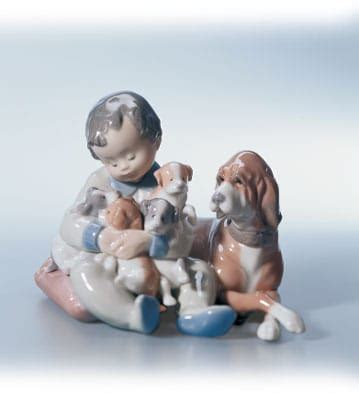 Animal Playmate Limited in basket lladro 01001128 animals lladro figurines collectibles