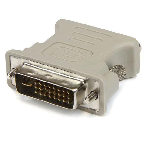 Adaptor Vga To Dvi startech dvi to vga cable adapter m f