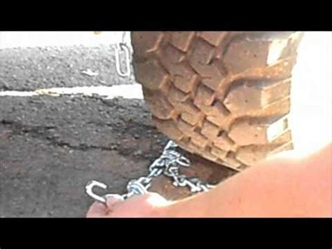 cadenas para nieve instalacion rud profi cadenas de nieve para camiones y quitanieves doovi