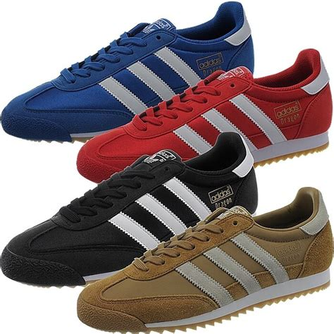 adidas og s sneakers blue black brown retro style casual shoes ebay