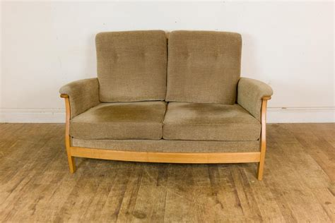 ercol saville sofa vintage retro ercol saville 2 seater sofa blonde light