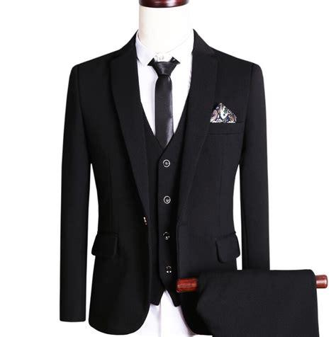 Sliming Suit 3 In 1 black slim fit 3 suit go suits