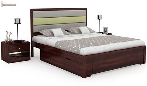 luxury king size bed bring luxury home with a wooden king size bed wooden street prlog