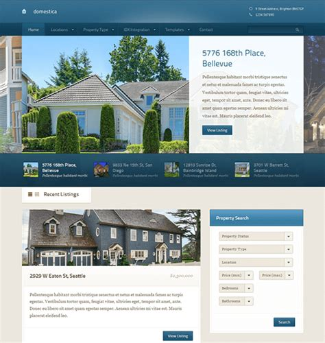 21 of the best real estate wordpress themes down