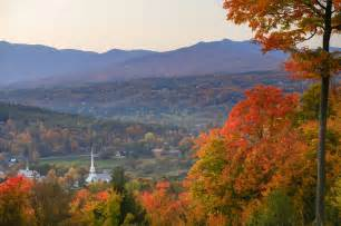 vermont fall colors getaway vacations
