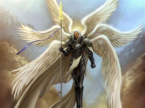 warrior angel  fire seraphim wallpaperbackground