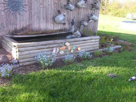 ground pond diy pond chickens backyard yard design