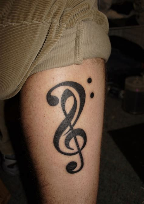 treble clef tattoo designs 50 treble clef tattoos tattoofanblog