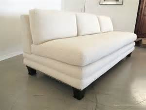 Armless Sectional Sofa Classic Design Custom Armless Sofa