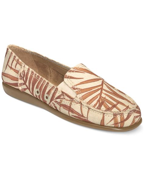 soft flats shoes lyst aerosoles so soft flats in