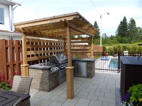 Amenagement Exterieur Coin Barbecue by Amenagement Exterieur Coin Barbecue Au38 Humatraffin