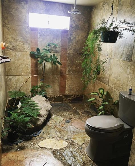 rainforest bathroom i would never leave pics