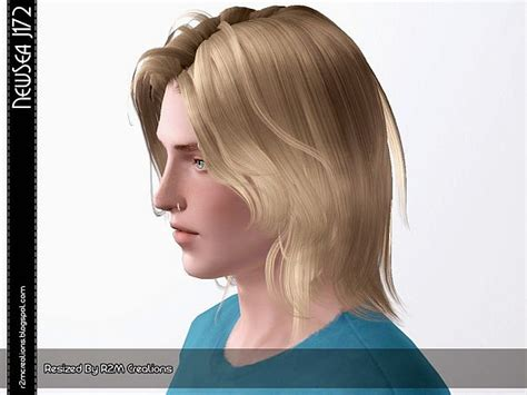 sims 3 male medium hair newsea j172 hairstyle for male retextured by r2m creations