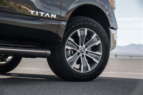 nissan titan wheels 2017 nissan titan 4x4 sl wheels motor trend