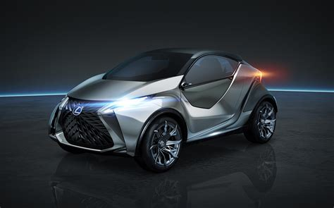 lexus small car lexus may take on mini with lf sa small car