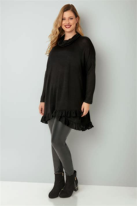 Vanilla Mastercard Gift Card Not Working - blue vanilla curve black roll neck cape jumper with layered frilled hem plus size 18
