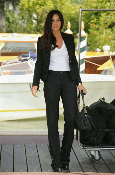 monica bellucci matrix costume black suit white t shirt monica bellucci my kinda