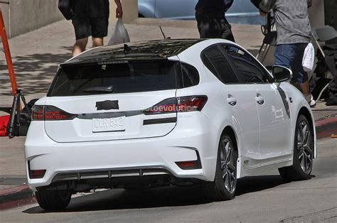 lexus ct200 2016 spyshots lexus ct 200h f sport autoevolution