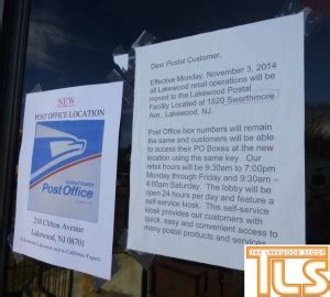 the lakewood scoop 187 lakewood s downtown post office shuts