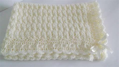 Handmade Crochet Baby Blanket - crochet baby blanket afghan handmade by handmadebyhallien