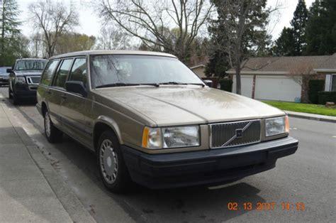 1994 volvo 940 wagon fully loaded non turbo all