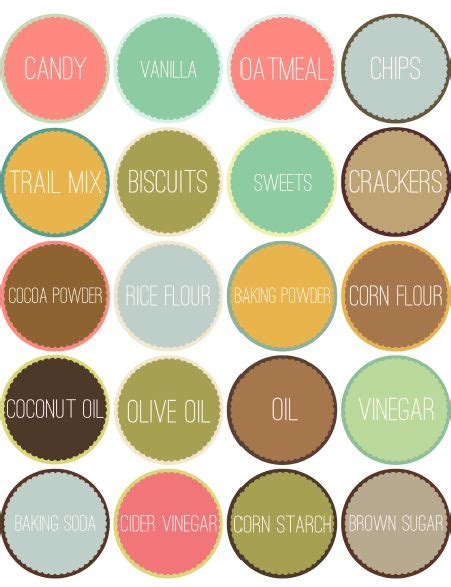this designer cooks free printable canister labels 17 best images about jar labels free jar labels jar