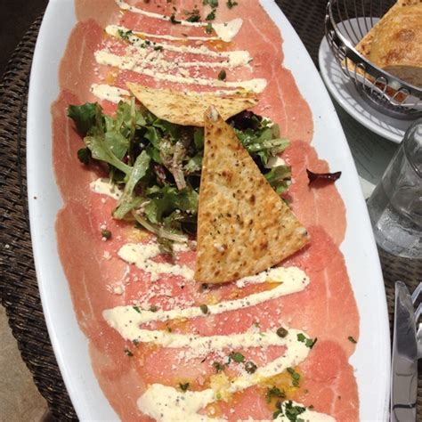 beef carpaccio brio beef carpaccio at brio tuscan grill miami my home