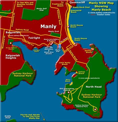 map of australia with sydney map of sydney australia sydney map and australia tourist