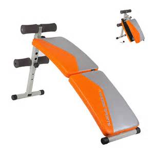 ab sit up bench ab sit up bench height adjustable folding abdominal board exercise gym crunch ebay