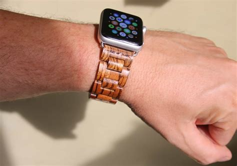 band mac wood is the new leather for apple bands cult of mac