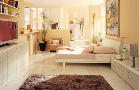 Bedroom Design With Lcd Tv Modern Bedroom With Lcd Tv And Luxury Rug
