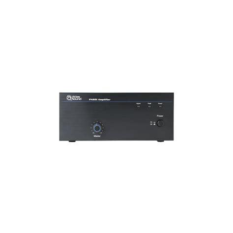 Power Lifier 60 Watt atlas sound pa601 60 watt single channel power lifier avsuperstore